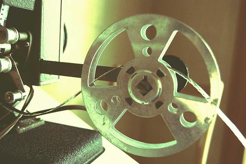 Projector reel