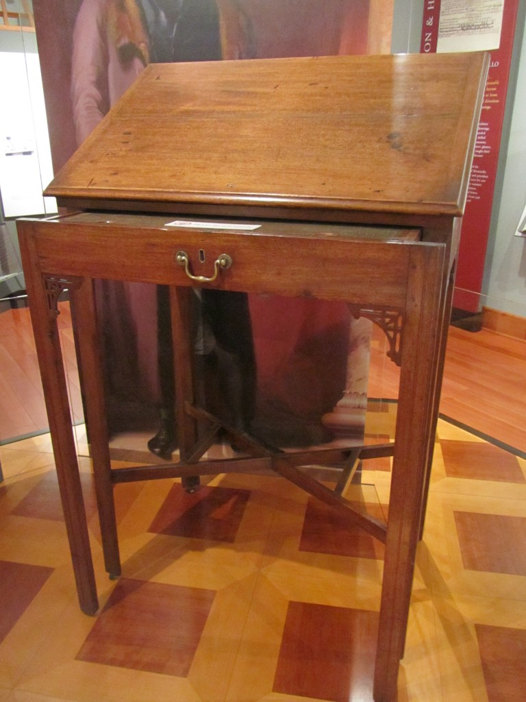 Thomas Jefferson's standing desk